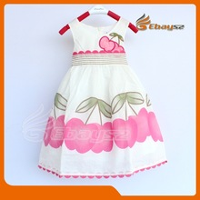 2014 Hot Selling Summer Girls Dress /Kids Clothing /Children Clothes KQ--0001