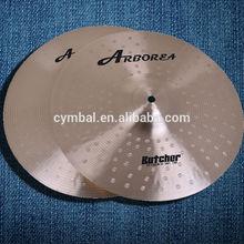 "B20 material Chinese Cymbals A2 pearl series 14"" Hihat Cymbal set"