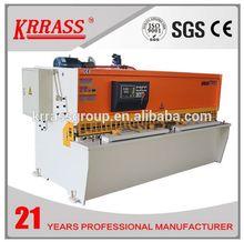 IN STOCK krrass CNC Metal plate Shear Machine,CNC Mutiple Axes Hydraulic Guillotine Shear