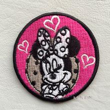 Custom cartoon design decorative label patch for children's wear