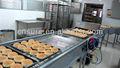 Toda hamburger linha de produção