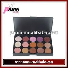 Popular makeup 15 multi colored eyeshadow palette cool eye shadow make up