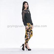 fashion design lady blouse wholesale crop tops 2014 latest blouse