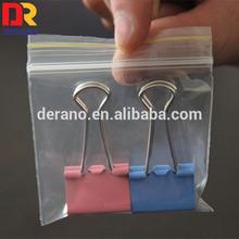 Food Grade LDPE Plastic Custom Heat Seal Resealable Plastic Bag for Food