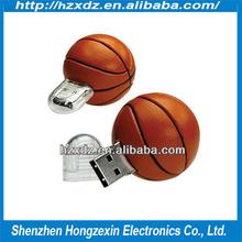 Best quality USB 2.0 Flash Drive basketball usb stick 1GB ~32GB