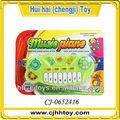 baratos promocionais de plástico brinquedo musical de teclado de piano