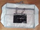 Brand high quality cheap plastic clear pvc zipper tote bags