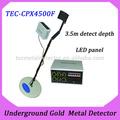 Hot! Hand held detector de ouro, metal máquina de detecção de tec- 4500f
