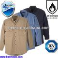 estilo de camisa de peso ligero resistente a la llama uniformes