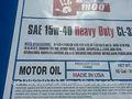 15w40 Heavy Duty Diesel óleo de Motor do motor. Convencional, Sintético completo e mistura