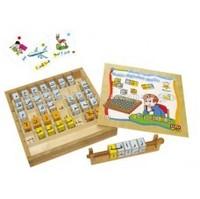 Educational Wooden Toys Arabic Alphabet Blocks 31360
