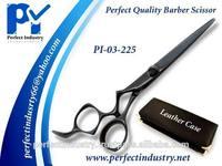 Professional black beauty salon barber Shears / black hair scissor