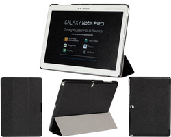 Tri-fold Slim Folio Magnetic Leather Case Hard Back Cover For Samsung Galaxy Note Pro 12.2 P900