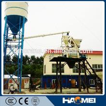Self Loading Ready Mixer Concrete Plant HZS50