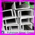Estructuras de acero U canal de canal / Channel tamaño, De peso