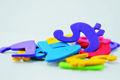 coloridos forma de espuma de eva