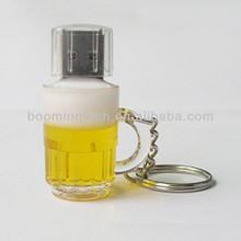Plastic Beer Bottle Cheap USB Flash Drive Wholesale