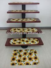 Self-adhesive Stair treads mat sunflower design