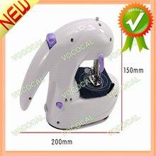 Mini Manual Electrical Sewing Machine Purple + White