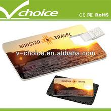 card shape usb flash drive production