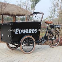 three wheel electric cargo transportation vehicle