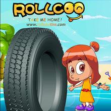 Truck Tires for Oil transportation, ROLLCOO Brand, excellent in tearing resistance Middle East Market 12.00R24