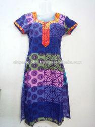2014 New Style Fashionable All Purpose Long Cotton Kurti