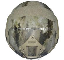Camo FAST Bulletproof Helmet / Kevlar Fast Ballistic Helmet / F.A.S.T Aramid Bullet Proof Helmet