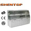 Shentop estilo europeu vidro elétrico bolo de exibição vitrine armário de exposição pão STPZ-A06125