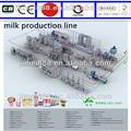 leche uht equipo de procesamiento de la planta de fabricación