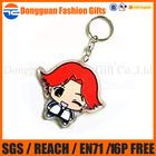 wedding souvenir custom cartoon shape key chain for promotion