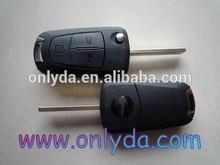 Car key for Opel 3 button flip remote key ,auto key remote control