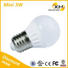 factory price 3w 5w 7w 9w 12w e27/e14 base led bulb / led light bulb components