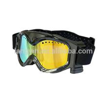 Wireless HD 1080P ski goggles with video camera