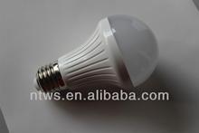 5W plastic bulb LED