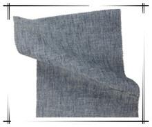 Linen cotton denim fabric
