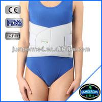 Orthopedic lumbar support corset