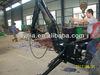 tractor pto towable backhoe