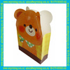 animal shape innovative paper bag for shopping and gift packing