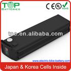 2014 MILITARY Factory TOP Quality 24v/36v/48v Customized lithium long cycle life lifepo4 battery 48v 30ah