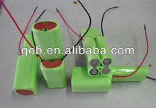 NI-MH rechargeable battery pack 7.2V 800mAh high quality for Power tools, vacuum cleaners, electric toys,