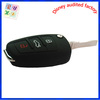 Existing mold silicone case car key case with debossed buttons