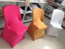 colorful spandex folding chair cover