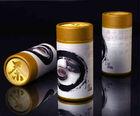design empty chinese tea in yellow box