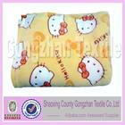 polyester fleece custom printed mink blanket made in spain blanket