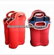 TH-002070 neoprene bottle wine tote bags