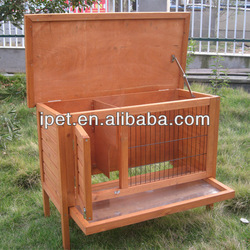Free wooden Cage for Rabbit RH040