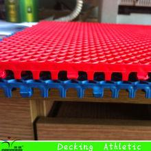 Indoor / Outdoor Futsal Flooring , Suspended Modular Soccer Pitch
