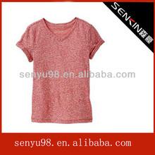 New design guangzhou garment factory t shirt women