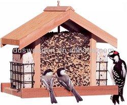 2014 HOT Deluxe Solid Wood Bird Feeder
